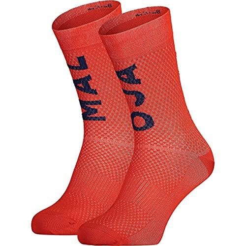 Maloja Schaumkrautm. Socken Rot, Laufsocken, Größe EU 39-42 - Farbe Firebug