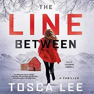 The Line Between audiobook cover art