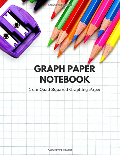 Graph Paper Notebook 1 cm Quad Squared Graphing Paper: (60 double-sided sheets) 8.5 x 11 Inch: Diary, Journal Graph , Coordinate , Grid , Squared ... (rhodia notebook graph paper, Band 2)