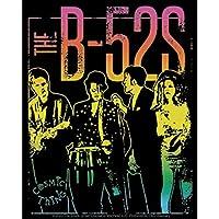 "B-52'S GROUP STICKER - New Wave Band B-52's Album Cover, Orignal Artwork Decal STICKER - 4"" x 5"""