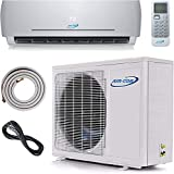 24000 BTU Ductless Air Conditioner – Mini Split AC/Heating System - 2 Ton Pre-Charged Inverter Heat Pump – 21 SEER - 12' Lineset & Wiring - 100% Ready to Install - USA Parts & Support