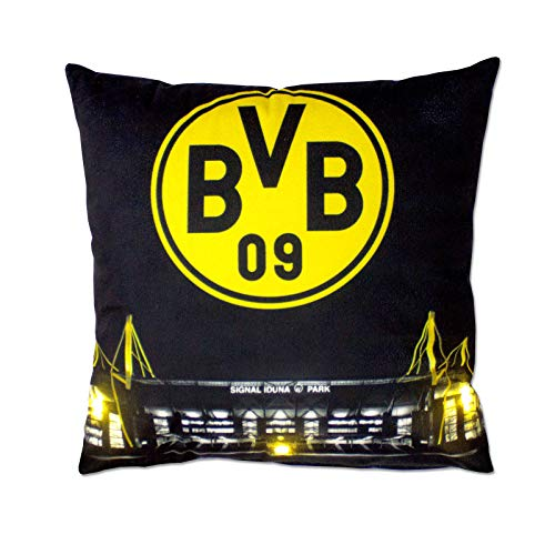 BVB-Kissen mit LED (40x40cm)