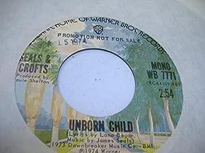 SEALS & CROFTS 45 RPM Unborn Child / Same
