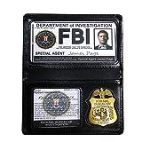 Cos Moments アメリカ連邦捜査局ID カード+合皮製ホルダー スーパーナチュラル FBI バッジ付き Dean