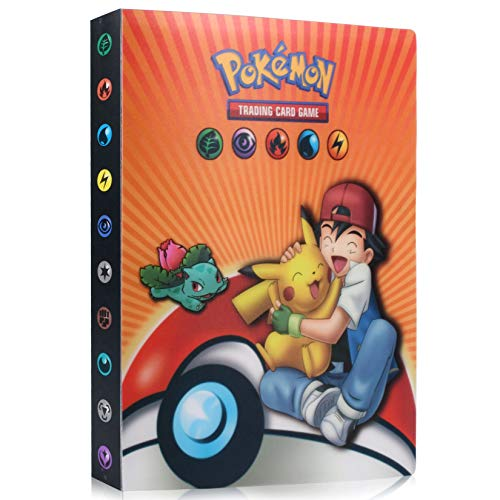 Álbum de PokemonÁlbum de Pokemon, Tarjeta de Comercio Álbum, Pokemon Álbum GX EX Cartas, Carpeta Cartas Pokemon, Album Pokemon Puede...