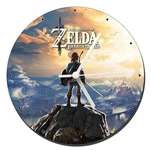MasTazas The Legend of Zelda Breath of The Wild Wanduhren Wall Clock 20cm