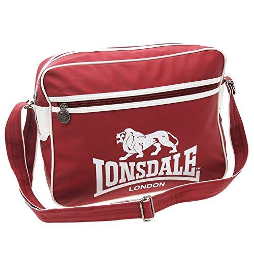 Lonsdale–Bolsa de Massenger Rojo Hold All