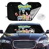 GuoJIMAN Spongebob Squarepants Car Windshield Visor Protects The Car Sunscreen...