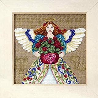 Mill Hill Angels by Jim Shore Counted Cross Stitch Kit w/ Glass Beads Summer Angel JS300102