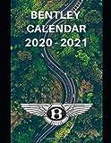 "Bentley Calendar 2020-2021: Weekly Planner Calendar Logbook Diary Gift Todo Memory Book Budget Planner | Cars, Men, Woman, Girls & Boys, Autos | 8.5"" x 11"" (Cars calendar 2020-2021)"