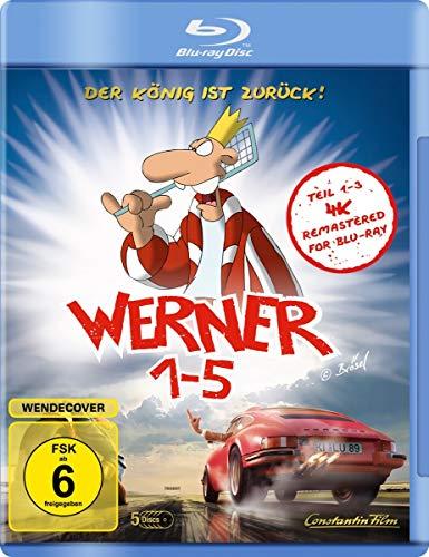 Werner 1-5 - Königbox [Blu-ray]