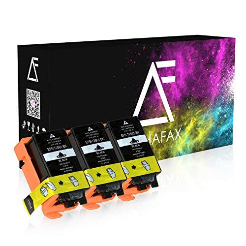 3 Tintenpatronen kompatibel für Epson Workforce WF100W - T2661 - Schwarz je 8,8 ml
