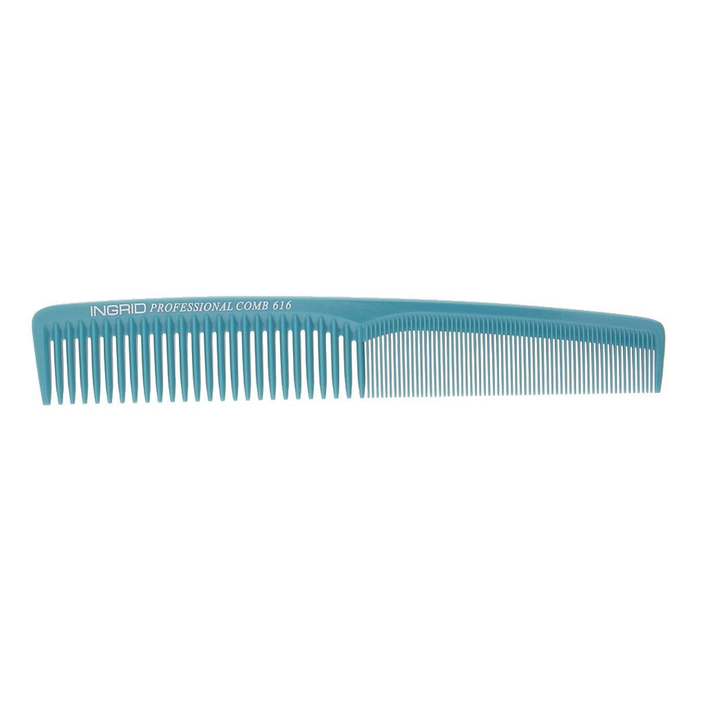 サワー関与する偽善FutuHome ファッショナブルなヘアカット理髪師美容院プラスチック製の櫛 - ライトブルー