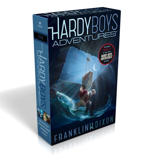 Hardy Boys Adventures: Secret of the Red Arrow; Mystery of the Phantom Heist; The Vanishing Game; Into Thin Air: Books 1-4