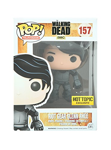 Funko - Figurine Walking Dead - Glenn Riot Gear Exclu Pop 10cm - 0849803044268