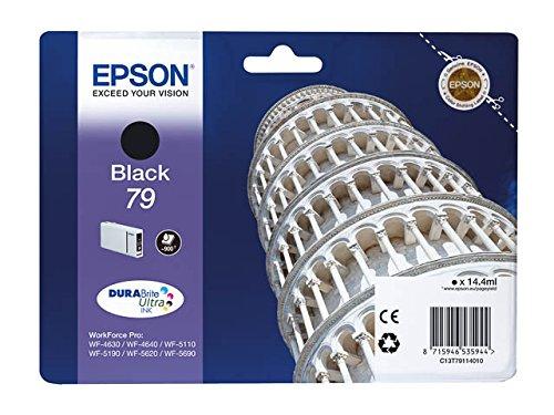 4x cartuccia d' inchiostro originali per Epson WorkForce Pro WF 5620DWF T 7911–T' 7914–BK, Cy, Ma, Ye per