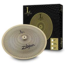 "Zildjian L80, 1, 18 inches China Cymbal, Buffed Bronze, 18"" Low Volume Single (LV8018CH-S)"