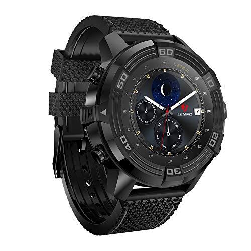 T-XYD Sport-Uhr, IP67 Wasserdicht GPS mit Bluetooth 4.0 WiFi 3G ROM 16G + RAM 1G Smart-Uhren Pedometer-Puls-Monitor-Handy für Android