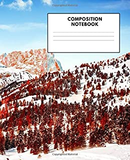 """Composition Notebook: Handwriting Practice Paper Journal for K-3 Students 7.5"""" x 9.25"""""""