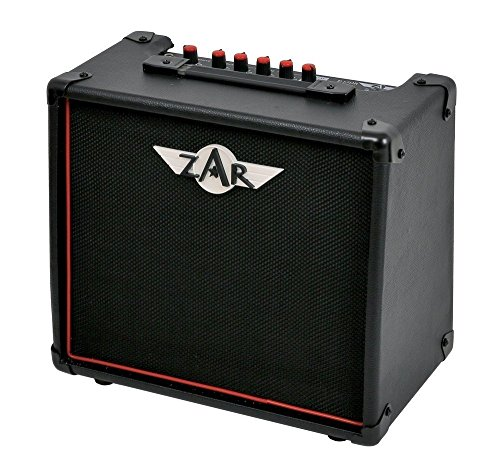 Zar E-15DR E-Guitar Amplifier Digital Reverb Speaker, 6.5-Inch