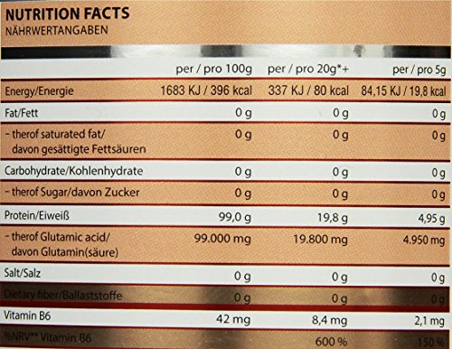Fit Fox Express – Premium L-Glutamine Aminosäuren Pulver, 500g Dose - 4