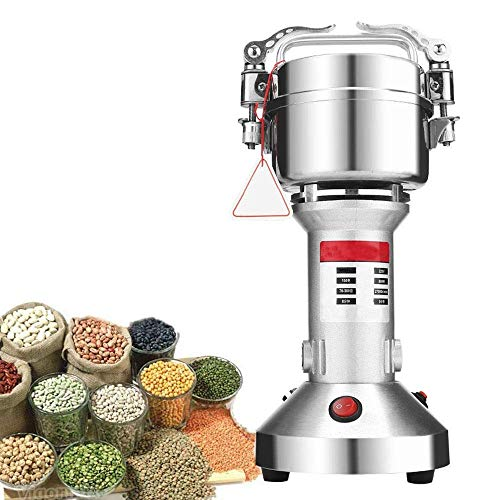 Read About CHENJIU Commercial Grade Manual Grain Grinder with High Hopper – Table Clamp Hand Corn Mill, Cast Iron
