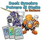 Yu-Gi-Oh! - Deck Completo Synchro Polvere di Stelle - Mazzo Completo di 40 Carte + Extra Deck Pronto per Duellare