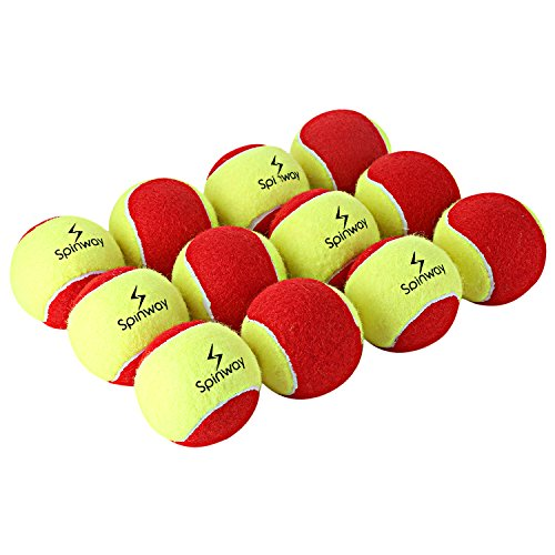 Spinway Mini Tennis Balls Stage 3 (Pack of 12) Red Colour