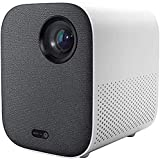 Xiaomi - Mini proiettore DLP, 1080P, Full HD, comando vocale, 500 ANSI, Video 4K, 2GB, 8GB, 2,4G / 5G, WiFi, BT, Proiettore LED portatile per Home Cinema