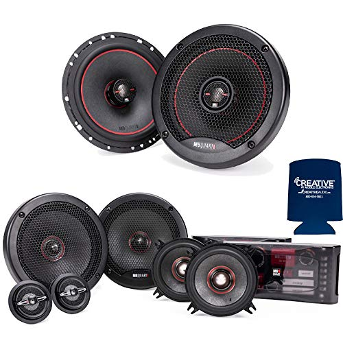 """MB Quart PS1-316 3-Way 6.5"""" Mid-Bass, 4"""" Mid-Range, 1"""" Tweeter Component System with Reference RK1-116 6.5"""" Coax Bundle"""