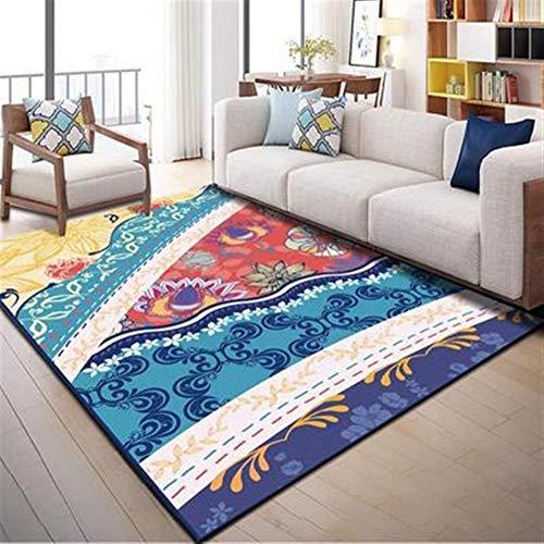 Woonkamer tapijt Bohemia Home Decor Wasbaar Zacht Antislip Ondervloer Dekbed Indoor Mat Tapijten Slaapkamer Keuken Tapijt Voor Kinderen Slaapkamer