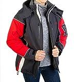 Rc Ocio Chaqueta Esqui Mujer Anorak de Invierno para Nieve/Cazadora termica Impermeable para ski, montaña Snowboard Abrigo de Deporte/Chaquetas térmicas (M)