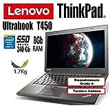 Zoom IMG-1 notebook lenovo thinkpad t450 intel