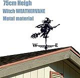 Zoom IMG-1 strega del vento in metallo