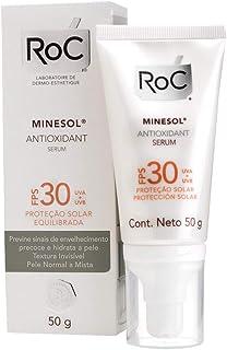 Minesol Antioxidante Serum FPS30, 50 G, Roc