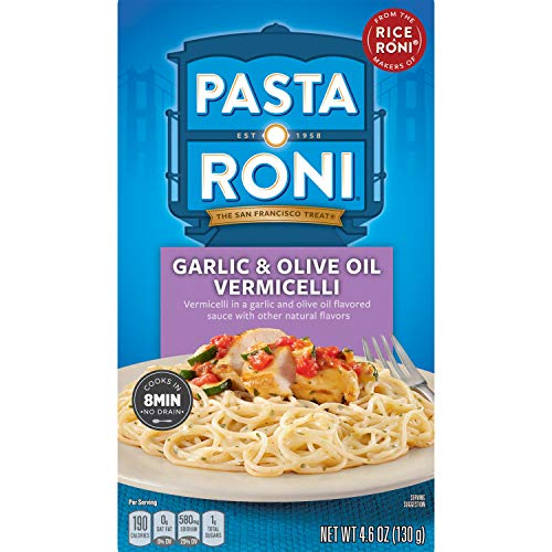 Pasta Roni Garlic & Olive Oil Vermicelli Mix 12-Pack Now $7.41