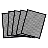 DENPETEC Grill Mat, Non Stick Grill mats Grill Mesh, Reusable Grilling Tools, Easy Clean Grill Mesh BBQ Accessories, Suitable for Refrigerators, Microwaves, and Dishwashers