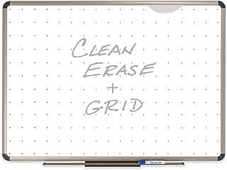 Quartet Euro Prestige Total Erase Dry-Erase Board, 3 x 2 Feet, Aluminum/Titanium Finish Frame (TE563T)