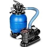 tillvex Depuradora Azul de Agua para Piscina