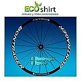 Ecoshirt R0-JRJO-EZAL Pegatinas Stickers Bontrager Kovee Elite 23 Am208 Wheel Aufkleber Llanta Rim, Blanco