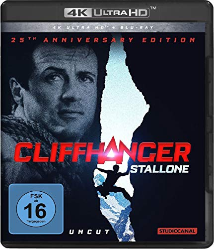 Cliffhanger  (4K Ultra HD) (+ Blu-ray 2D) / 25th Anniversary Edition / Uncut /