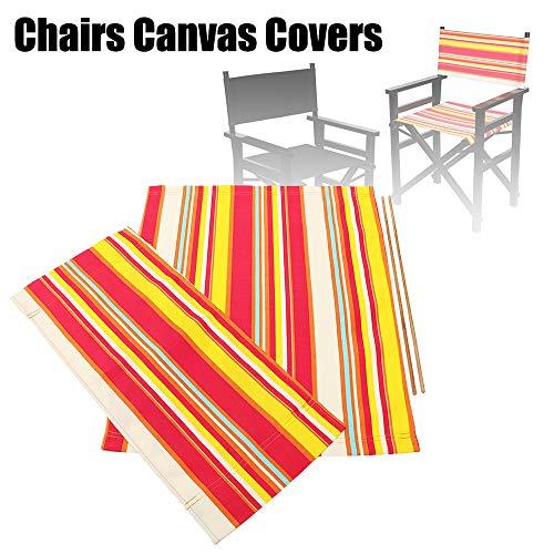 Walmeck- Stuhlbezug Outdoor Directors Chair Ersatzbezug aus Segeltuch