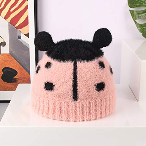 Fashion items Baby hat autumn and winter children's wool hat cute jacquard plus cotton lining warm cashmere knitted hat