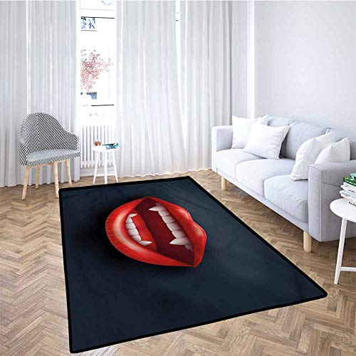 Sale!! Vampire Baby Crawling Mat Kids Playmat Vivid Open Mouth Fangs for Babies, Infants, Toddlers 6...