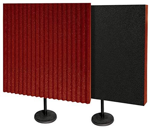 Auralex Acoustics DeskMAX Stand-Mounted Portable Acoustic Treatment Panels