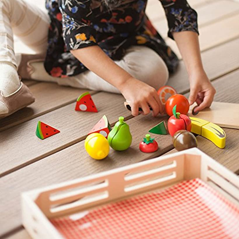 Fat Brain Toys Cutting Fruit - Orchard Fresh Cutting Fruit