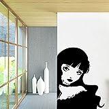 Tianpengyuanshuai Mädchen Vinyl Schlafzimmer Wohnzimmer Kinderzimmer abnehmbare dekorative Wand...