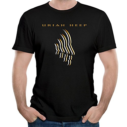 ROY Hombres de Banda de Rock Uriah Heep canción simpatía Shirt Camiseta de Manga Corta