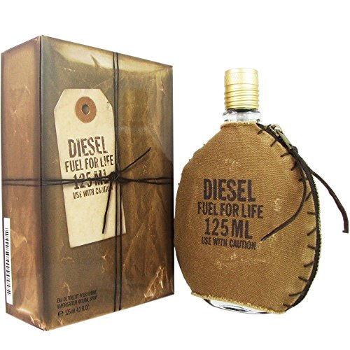 Price comparison product image Diesel Fuel for Life Eau de Toilette Spray for Men,  4.2 Ounce