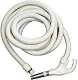 EFP 35ft Low Voltage On/Off Central Vacuum Hose with Button Lock